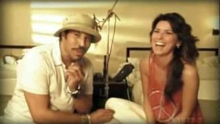 Shania Twain & Lionel Richie - Endless Love - Recording Session