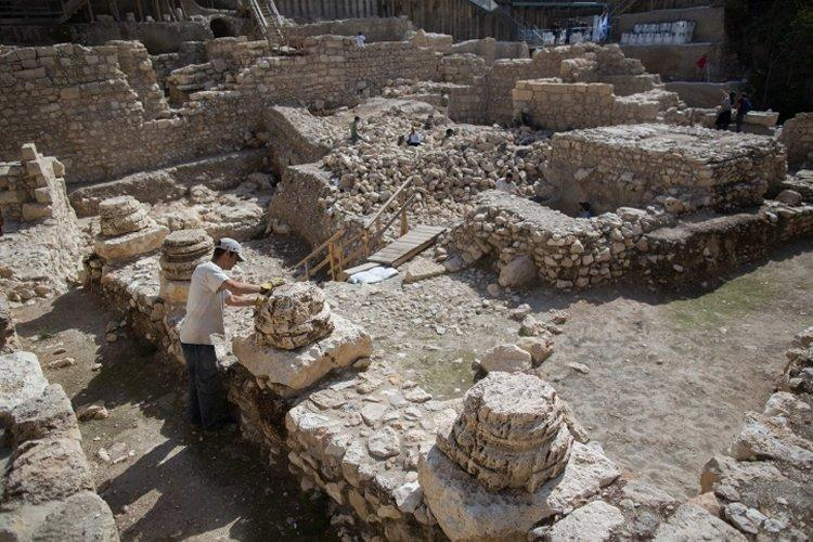 Special Finds in the Ancient Biblical Jerusalem