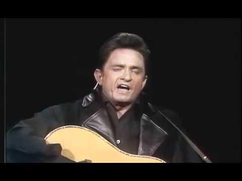 "Johnny Cash sings ""Man In Black"" for the first time (with intro)"